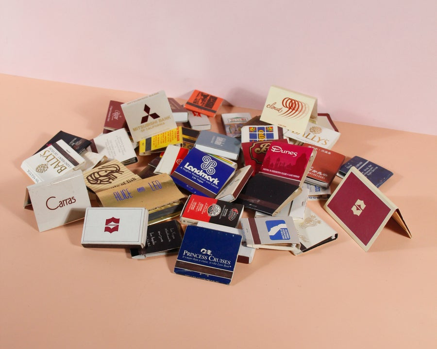 Image of Miscellaneous Set of Vintage Matchbooks