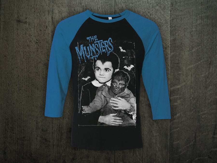 Image of EDDIE MUNSTER BASEBALL SHIRT