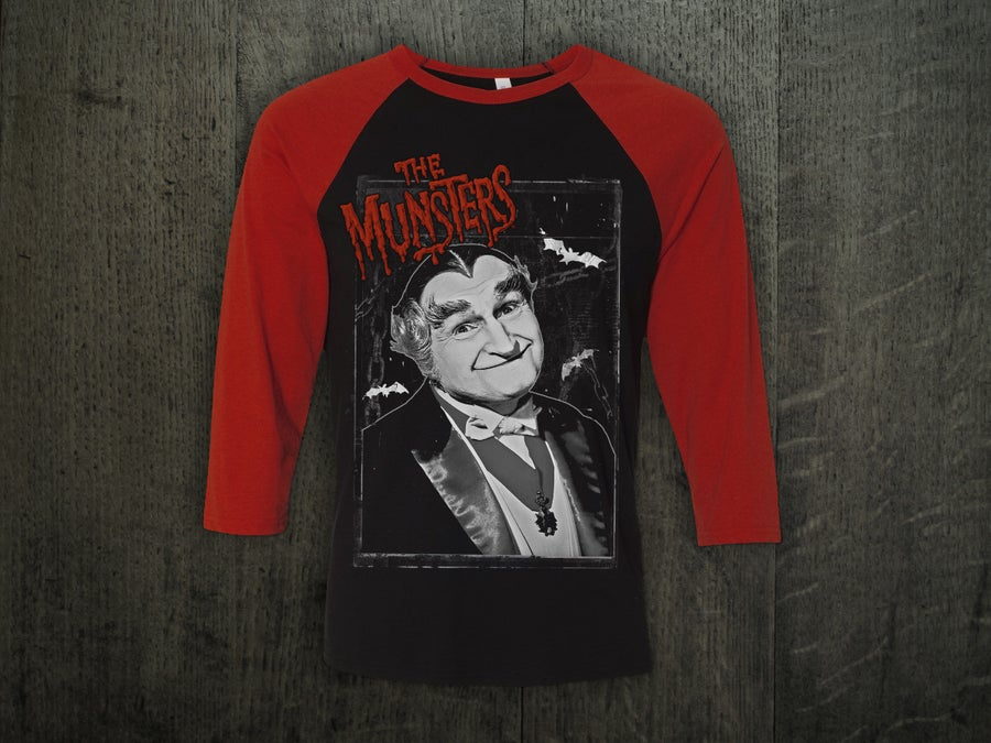 Image of GRANDPA MUNSTER BASEBALL SHIRT