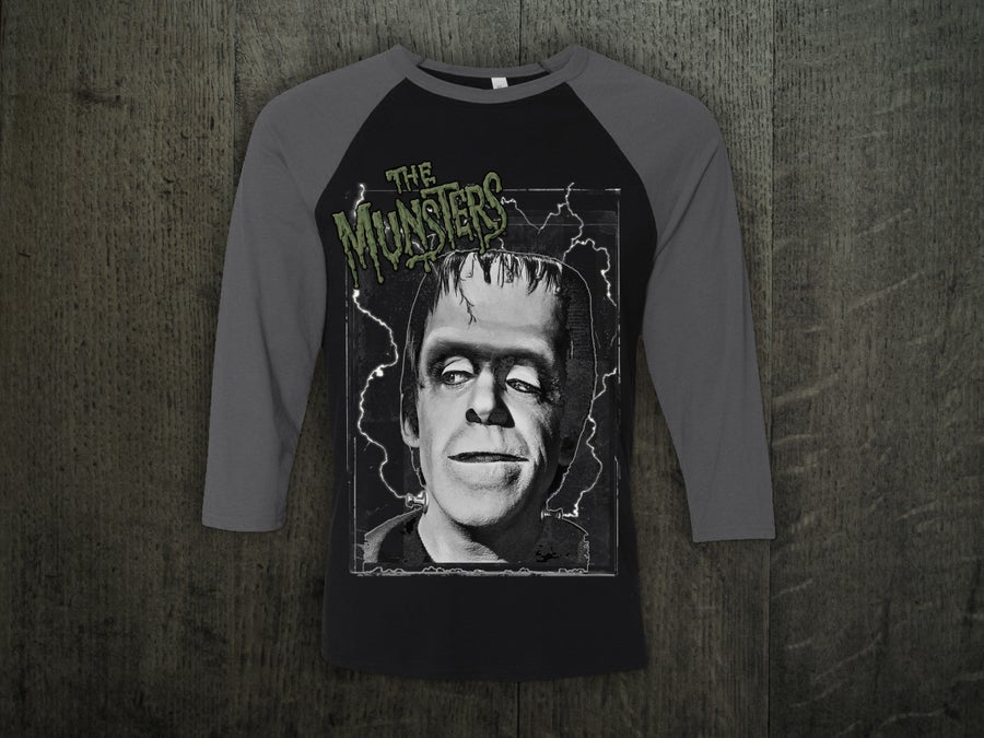 Image of HERMAN MUNSTER BASEBALL SHIRT