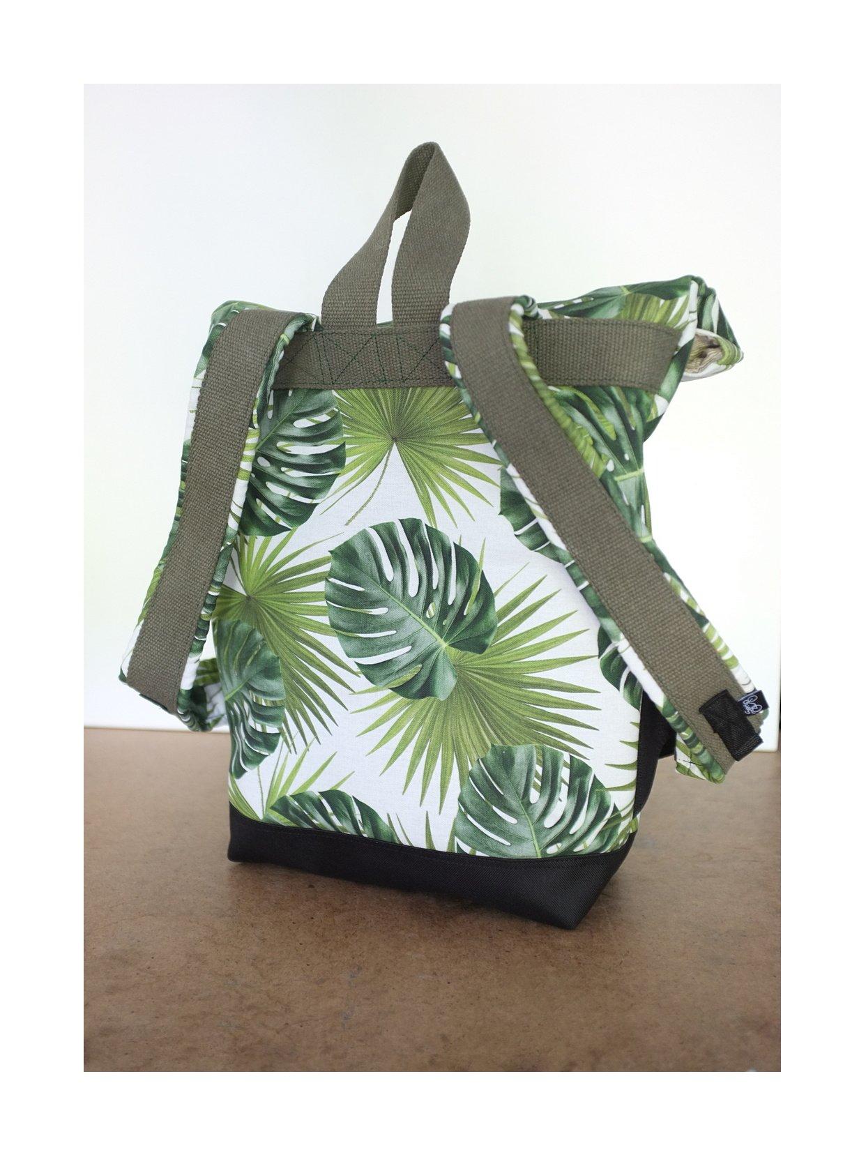 Image of Serin green backpack / Serin könnyezőpálmás hátizsák