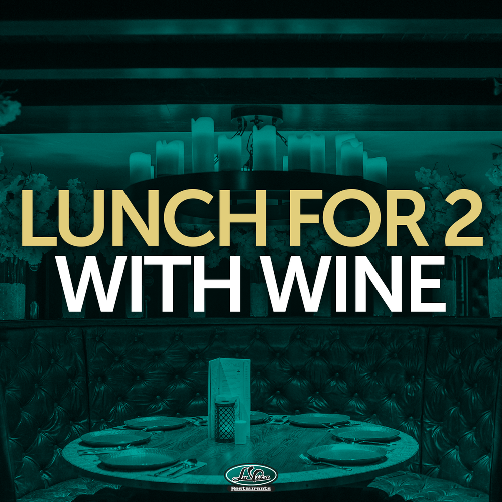 Image of Lunch For 2 With Wine