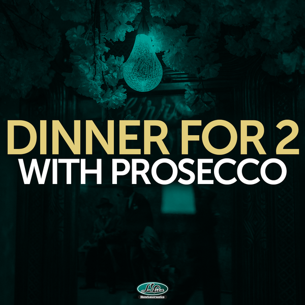 Image of Dinner For 2 With Prosecco