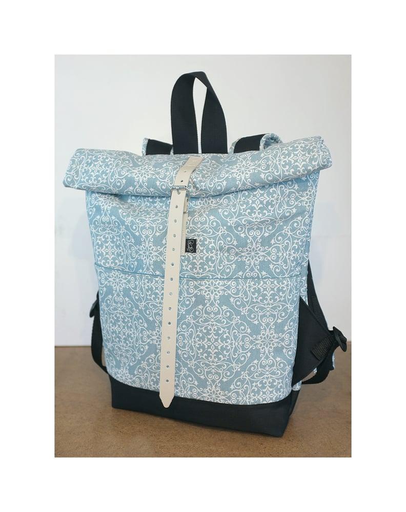 Image of Serin  turquoise backpack / Serin türkiz hátizsák (mom,mama coll)