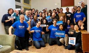 Image of T-Shirt Berlin For Bernie