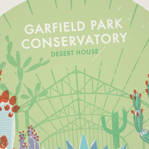 GARFIELD PARK CONSERVATORY – DESERT HOUSE - Sorry.