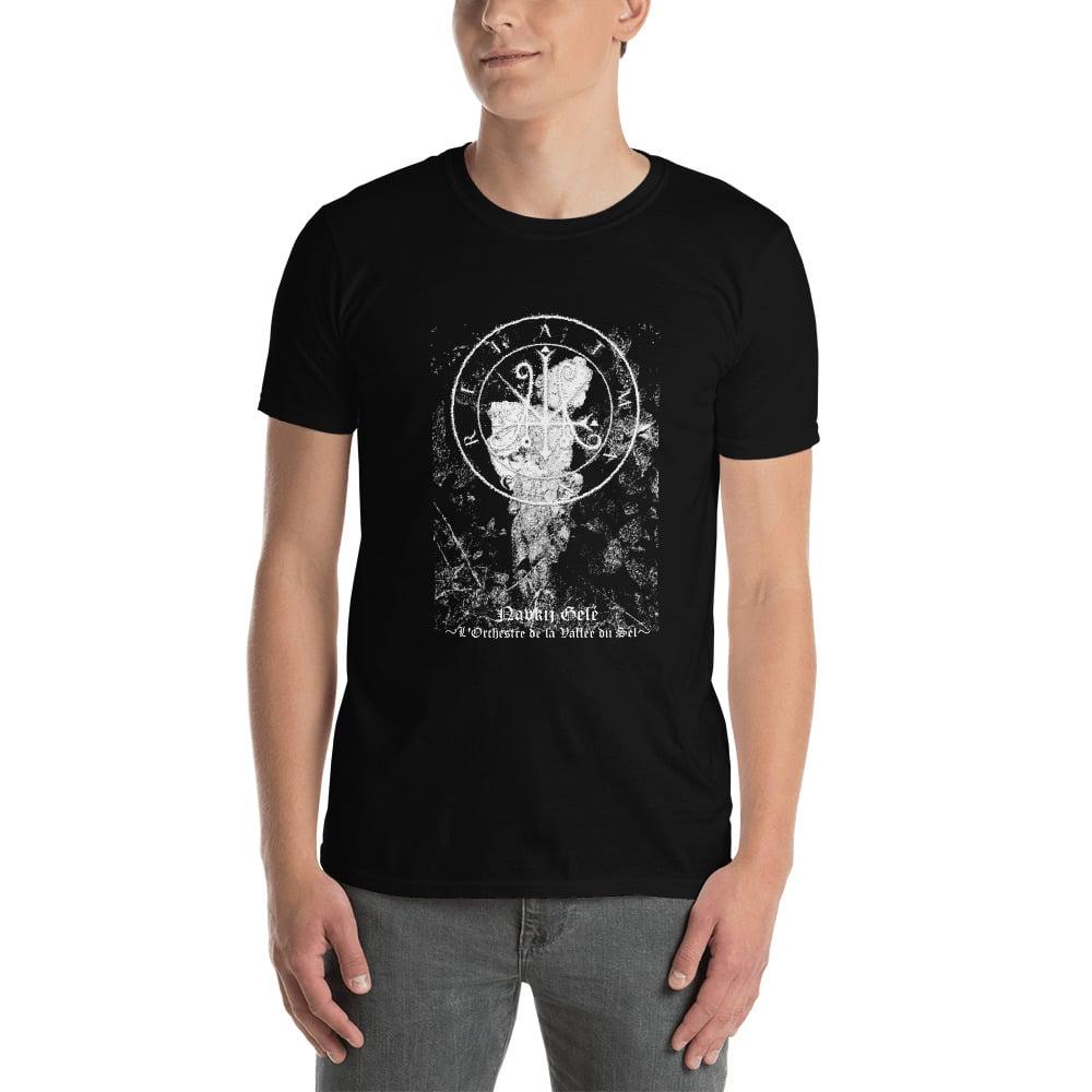 "Image of Atman Drei Demo II ""Navkij Gelé ~L'Orchestre de la Vallée du Sel~  "" Short-Sleeve T-Shirt"