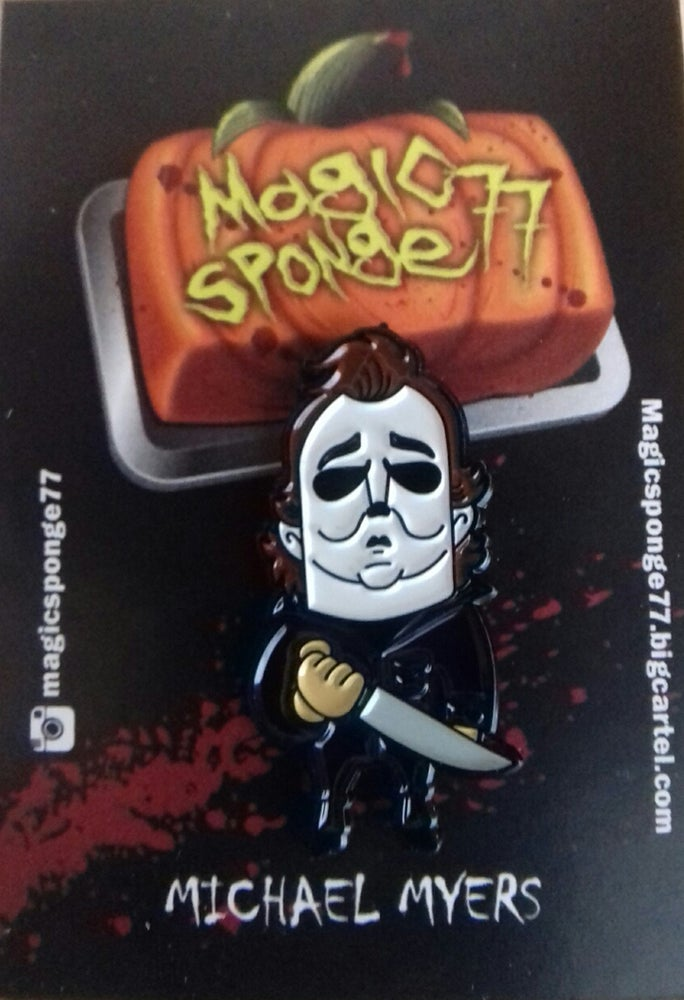 Image of Michael Myers Pin.