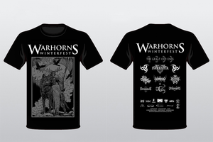 Image of Warhorns Winterfest 2020 Official T Shirt