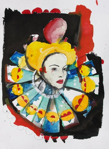 """Image of """"Queen of Hearts"""" by Tasya van Ree"""