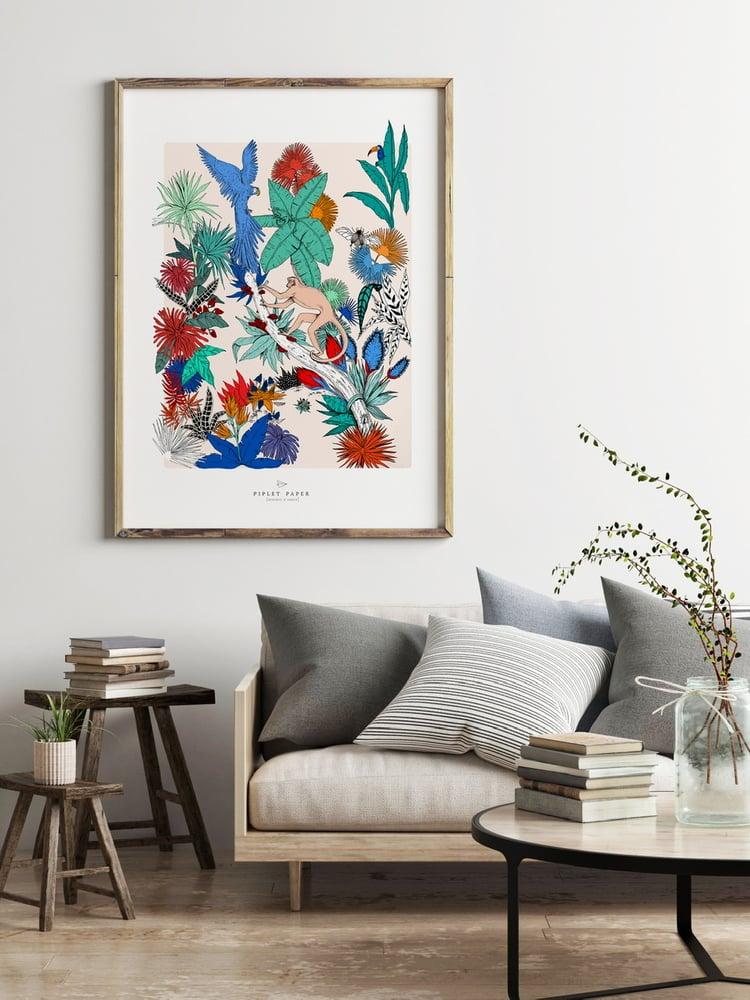 Image of Jungle magique couleurs