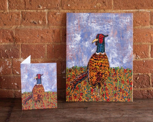 Image of Pheasant Card