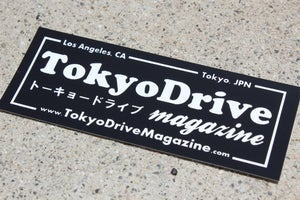 "Image of TokyoDrive ""Hashiriya Team"" Sticker"