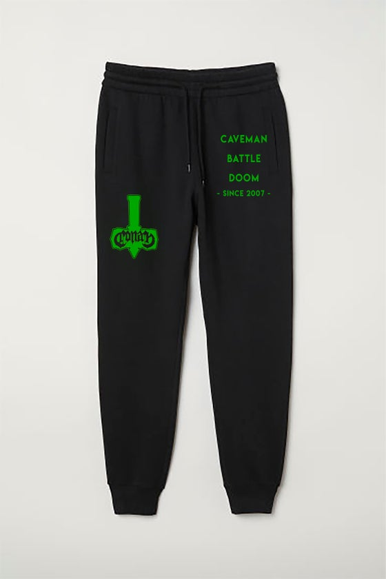 Image of CAVEMAN BATTLE DOOM JOGGERS