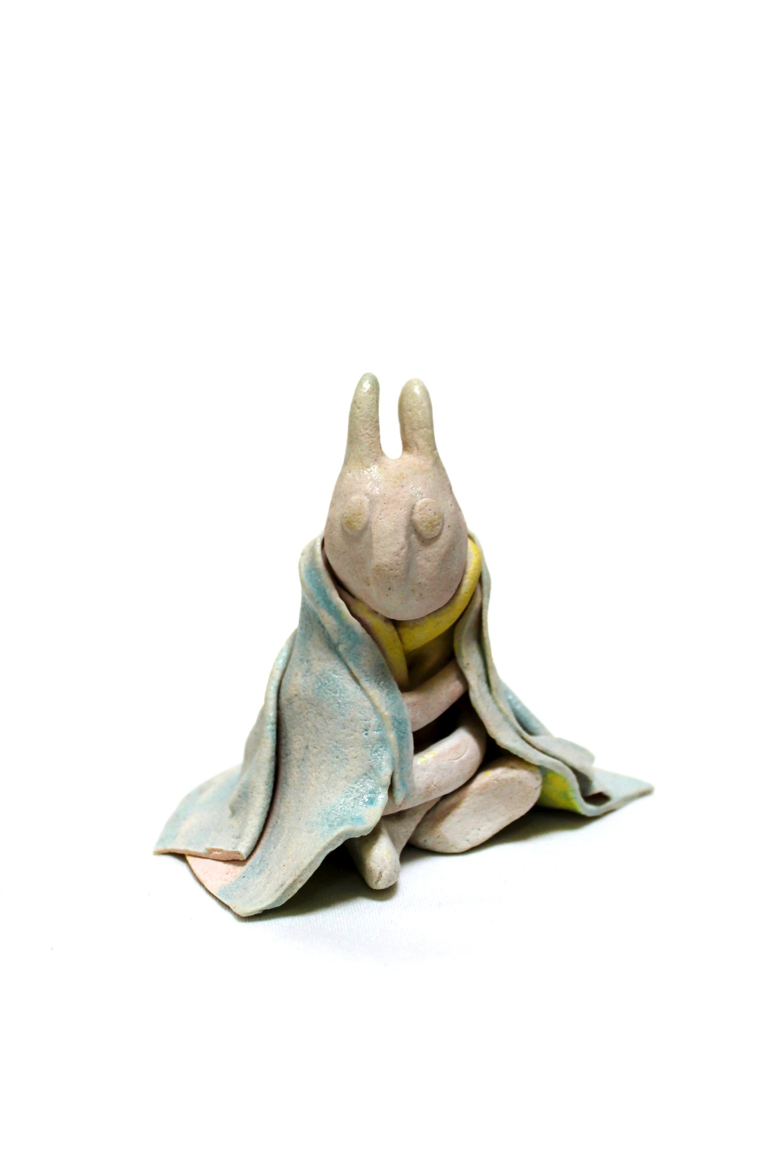 Image of 'Winter' - Pottery figure