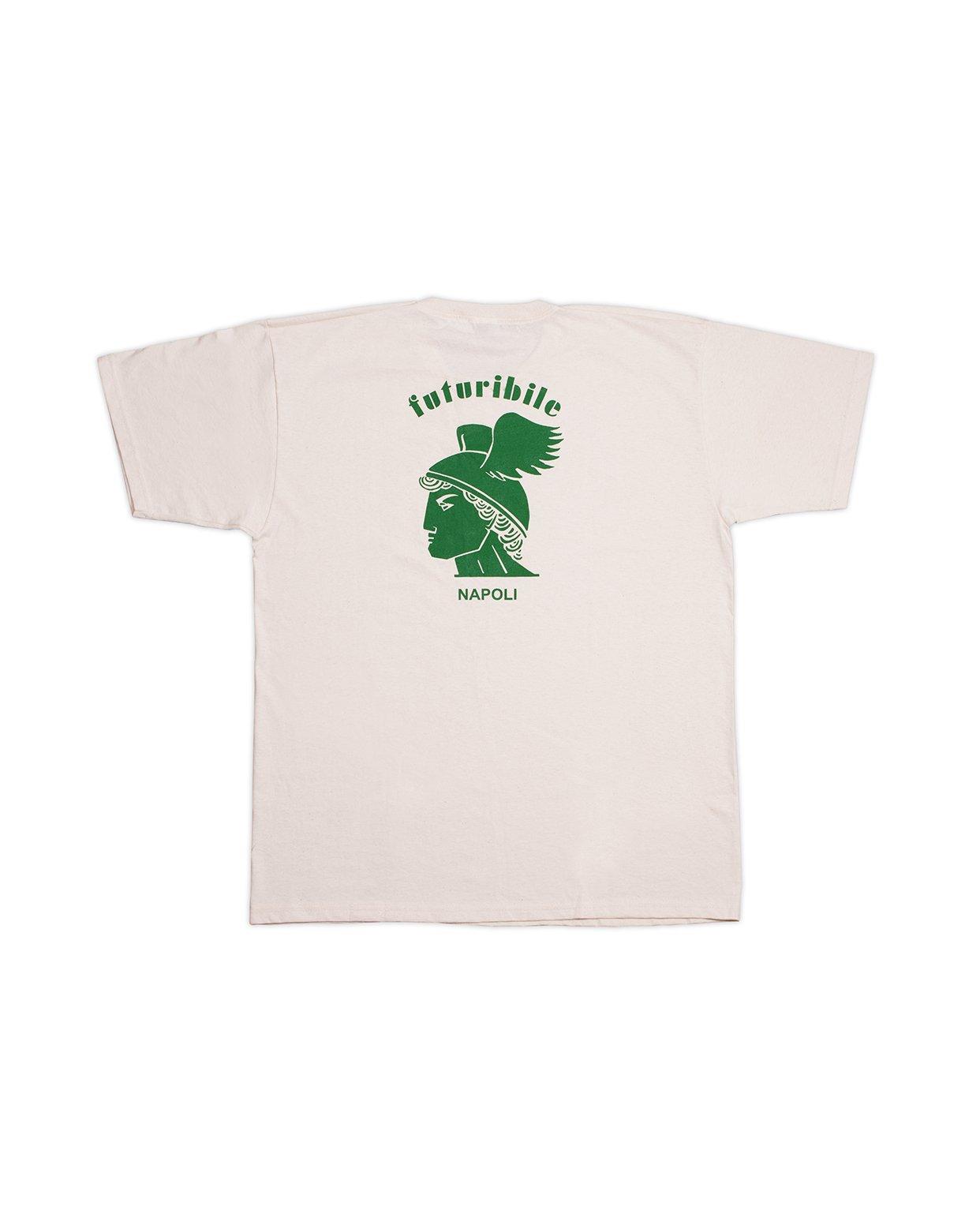 "Image of T-Shirt ""Futuribile Napoli"" (Green)"