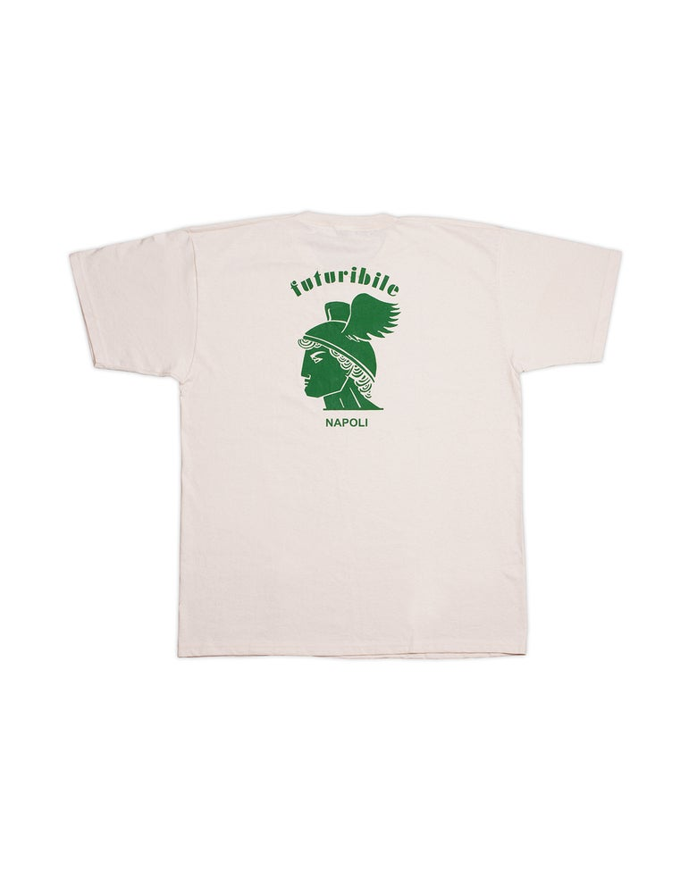 "Image of T-Shirt ""Futuribile Napoli"" (Green)"