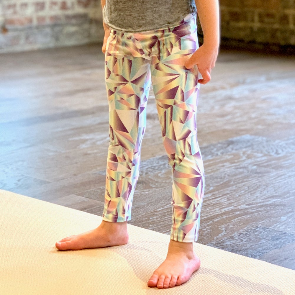 Image of Girl's Crystal Yoga Pants
