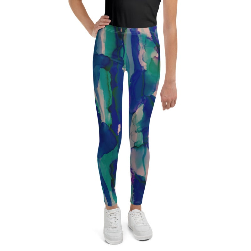 Image of Girl's Cenotes Yoga Pants