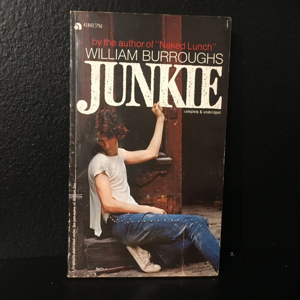 Image of Junkie- William Burroughs Ace Re-Issue (1973)