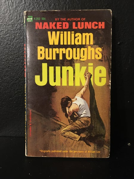 Image of Junkie- William Burroughs Ace Re-Issue (1964)