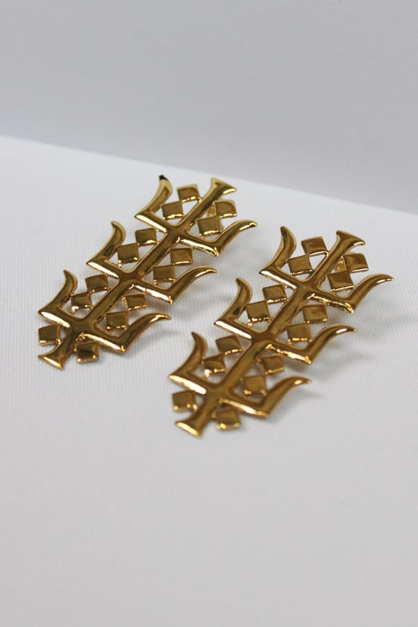 Temple earrings  - proyecto eclipse
