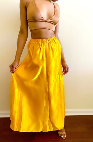 Image of Vintage Vibrant Yellow Maxi - M