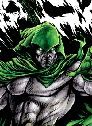 Image of THE SPECTRE 11x17
