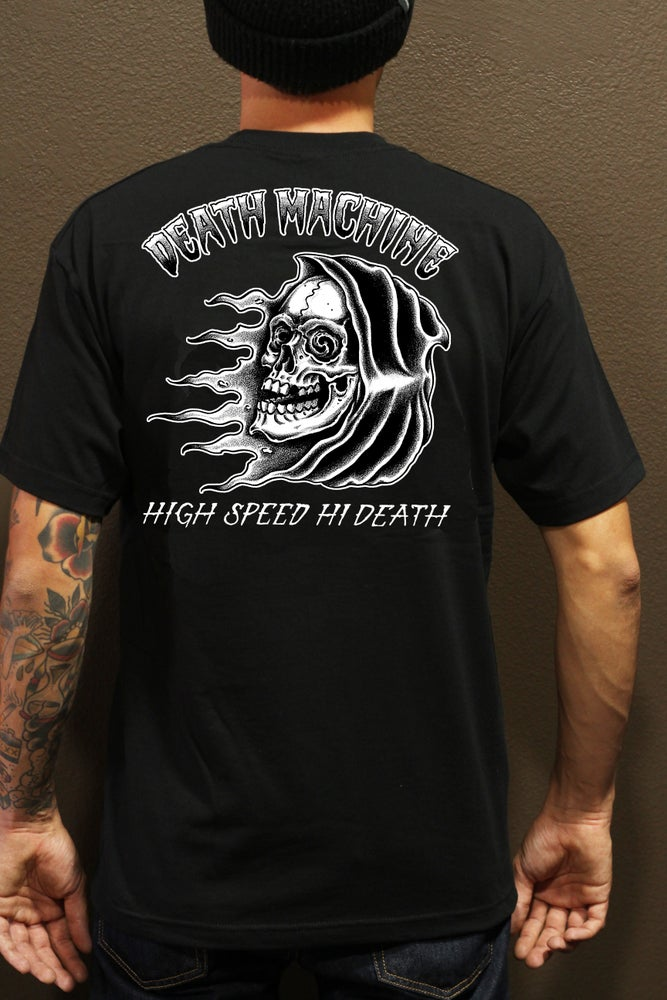Image of REAPER IN THE WIND TEE