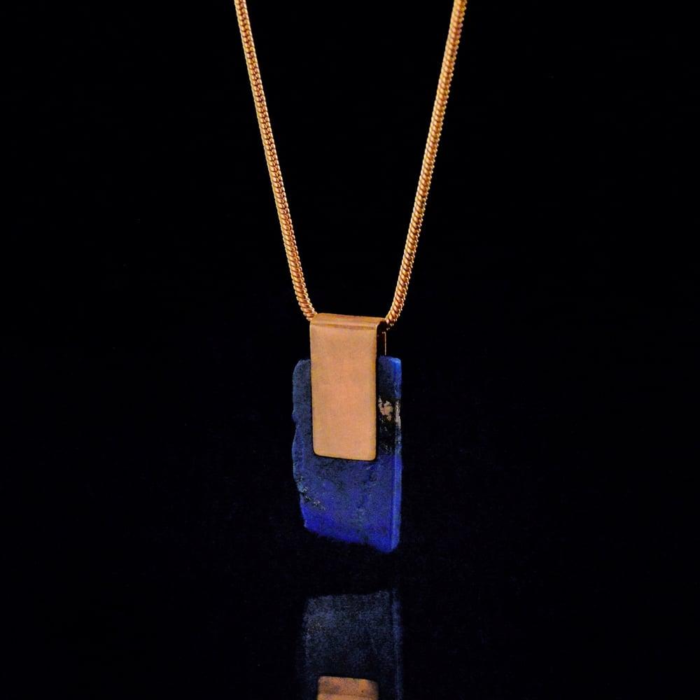 Image of INNER VISION necklace // Lapis Lazuli stone