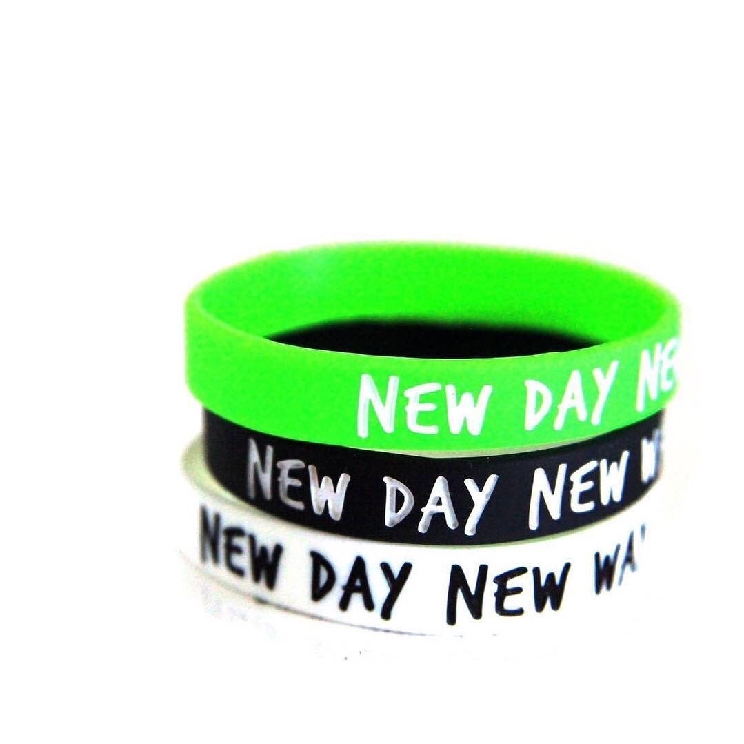 New Day New Way logo band