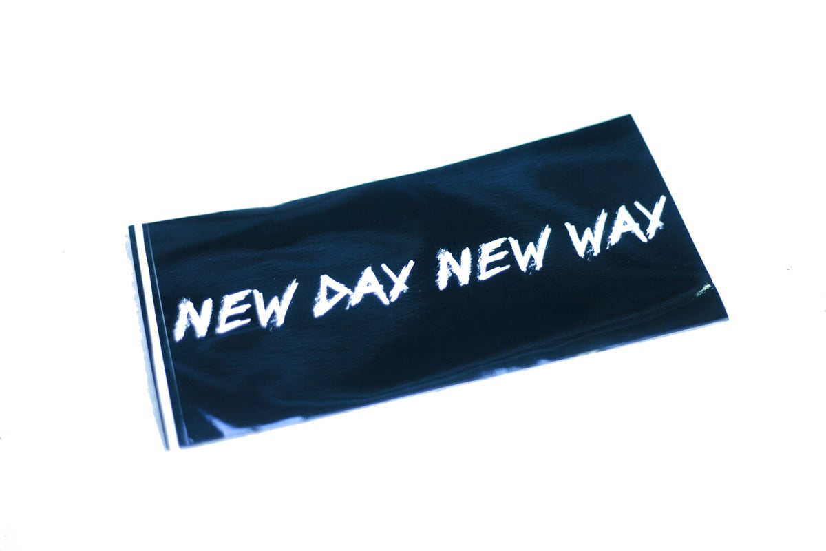 New Day New Way Org logo Sticker