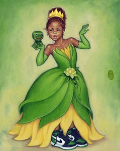 Image of Princess Tiana  [Limited Edition Paper]