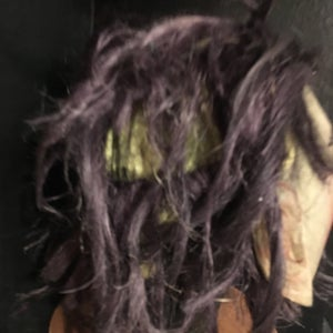Image of 1920s Hand Painted Halloween Mask