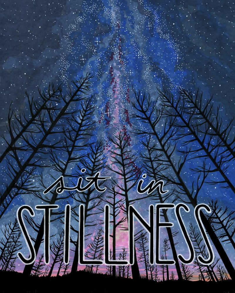 "Image of ""Stillness"" art print"