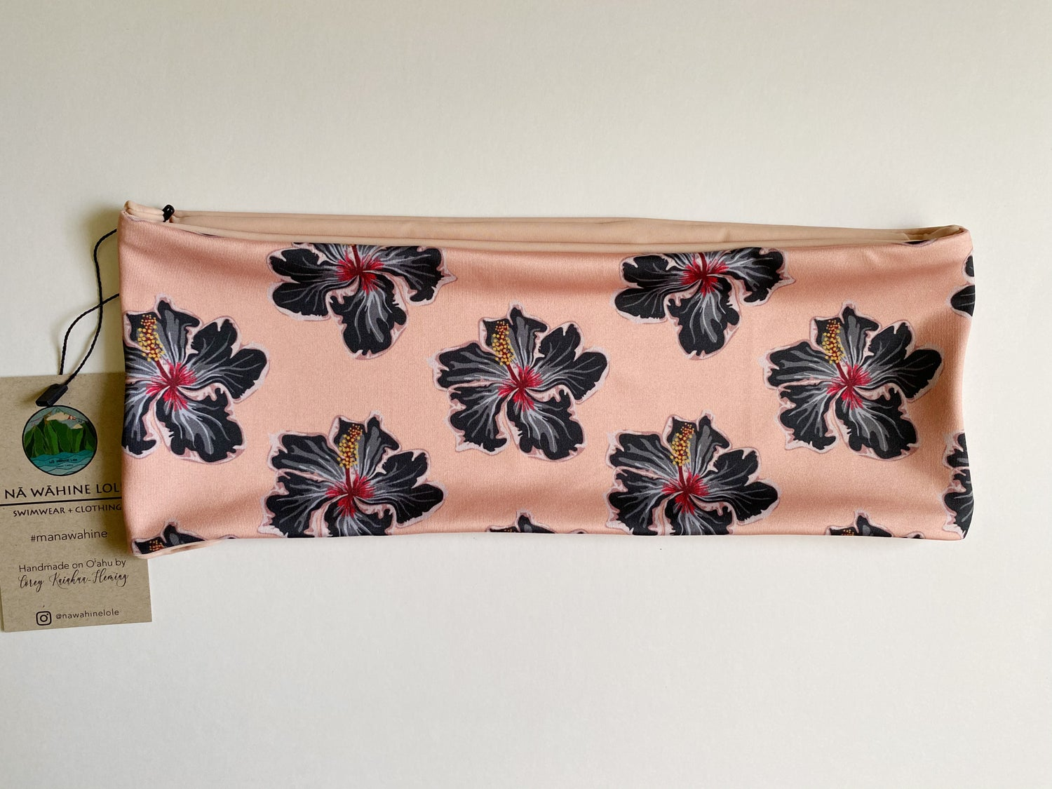 Image of Ready to ship-S-L EZ peach hibe bandeau top