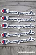 Image of Champorado sticker