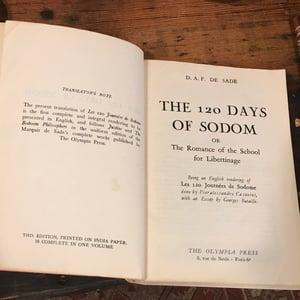 Image of Marquis de Sade- 120 Days of Sodom (1954)