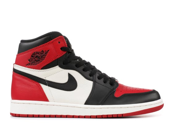 "Image of Air Jordan 1 Retro High OG ""Bred Toe"""