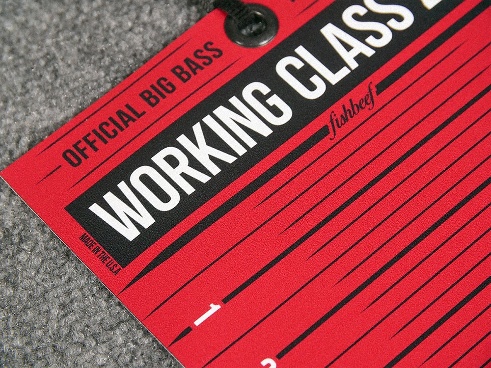 Image of Travel Ready Big Bass Board (RED)