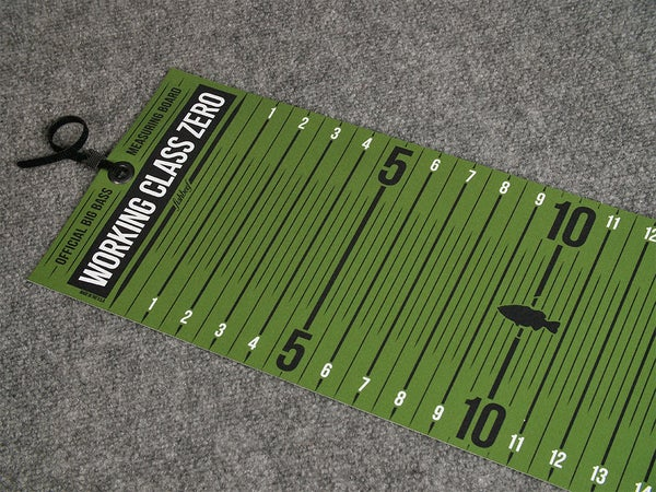 Image of Travel Ready Big Bass Board (GREEN)