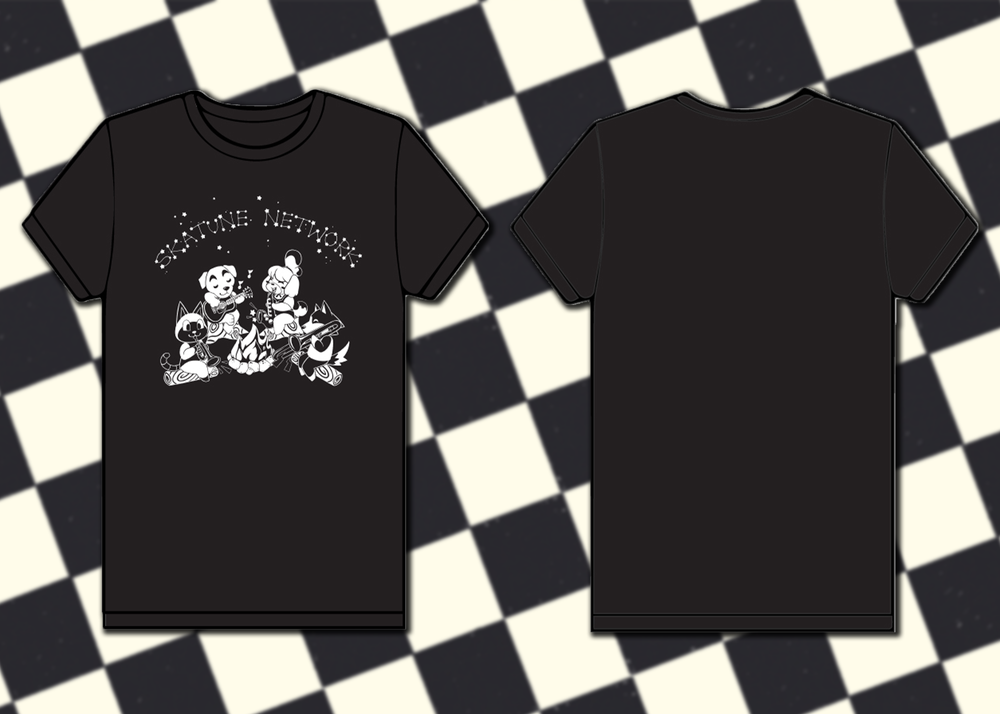 Image of K.K. Skatune Network Shirt - up to 5XL