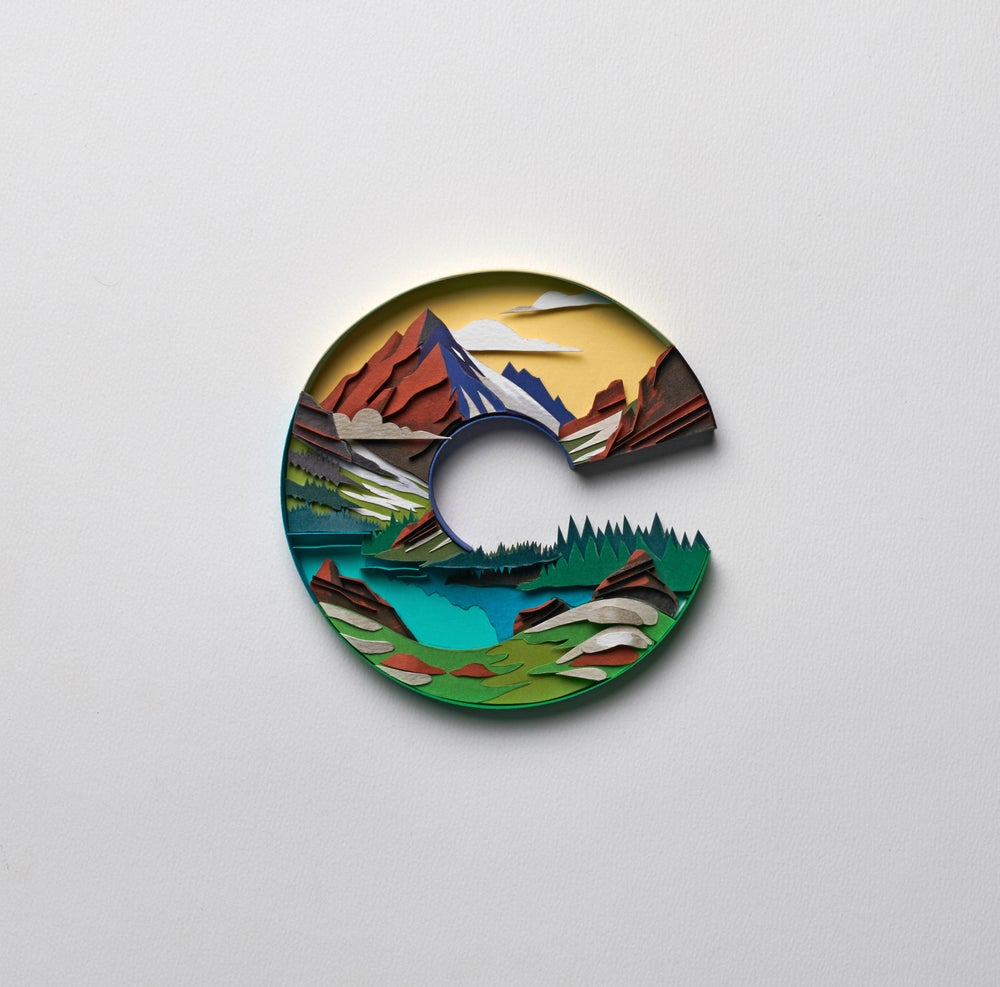Image of Letter C : Colorado