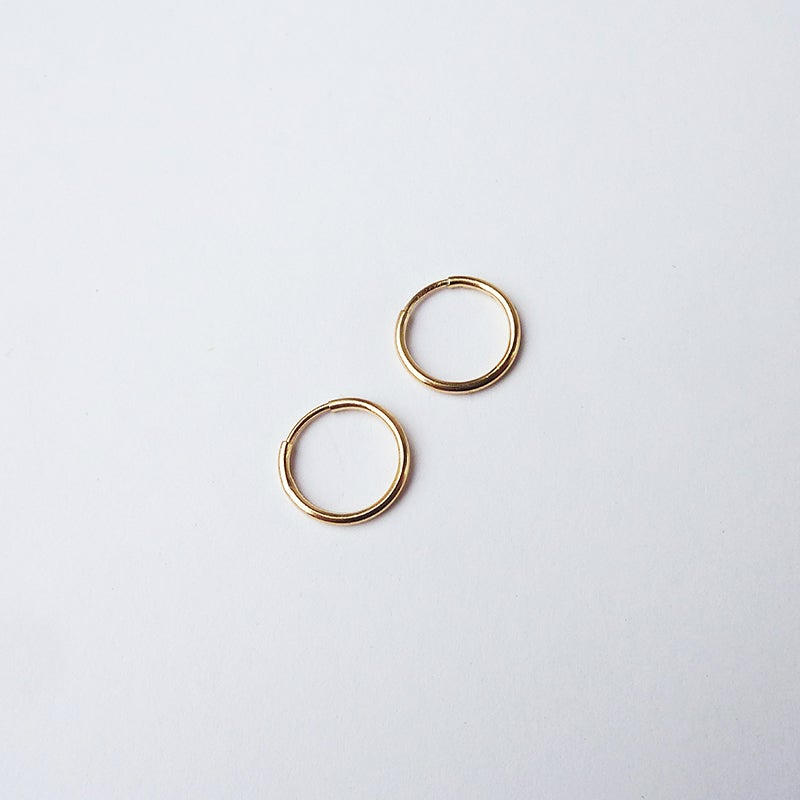 Image of *NEW* Mini Hoops 14K Gold Fill