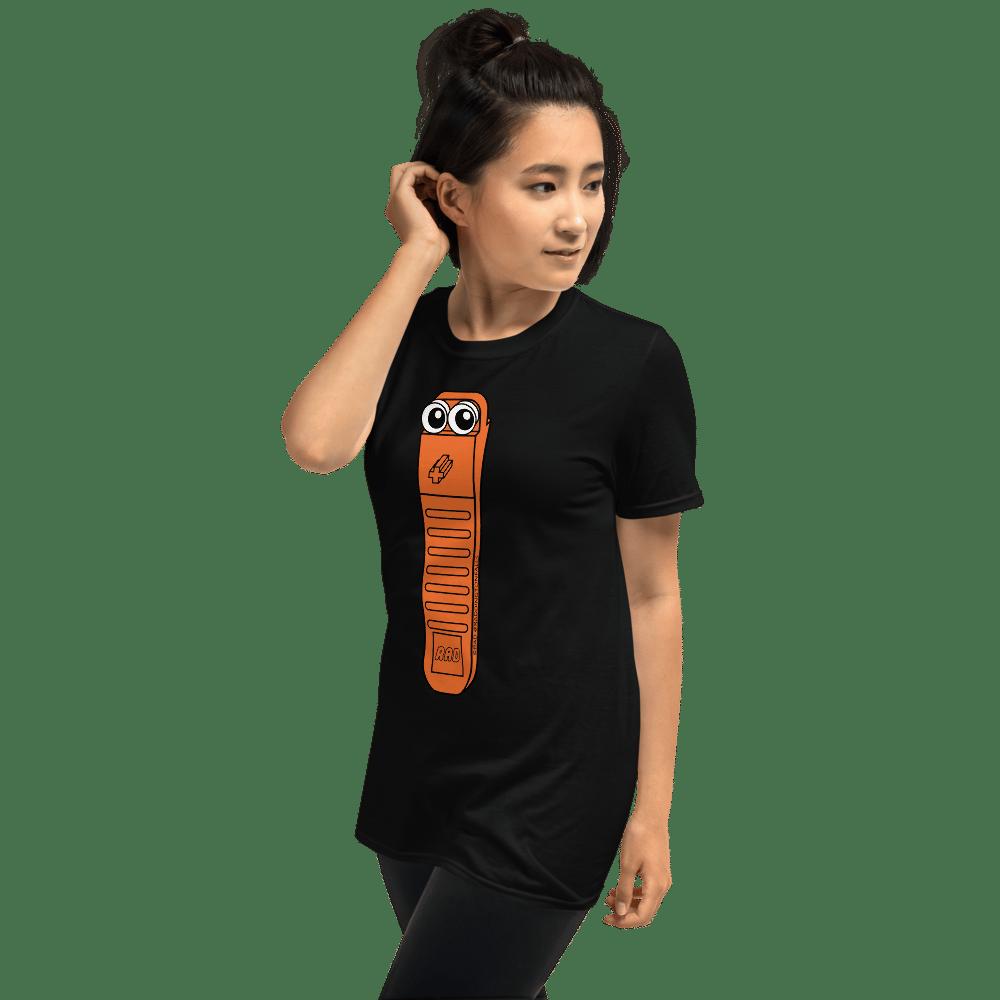 Bricky Unisex Adult Black T-Shirt