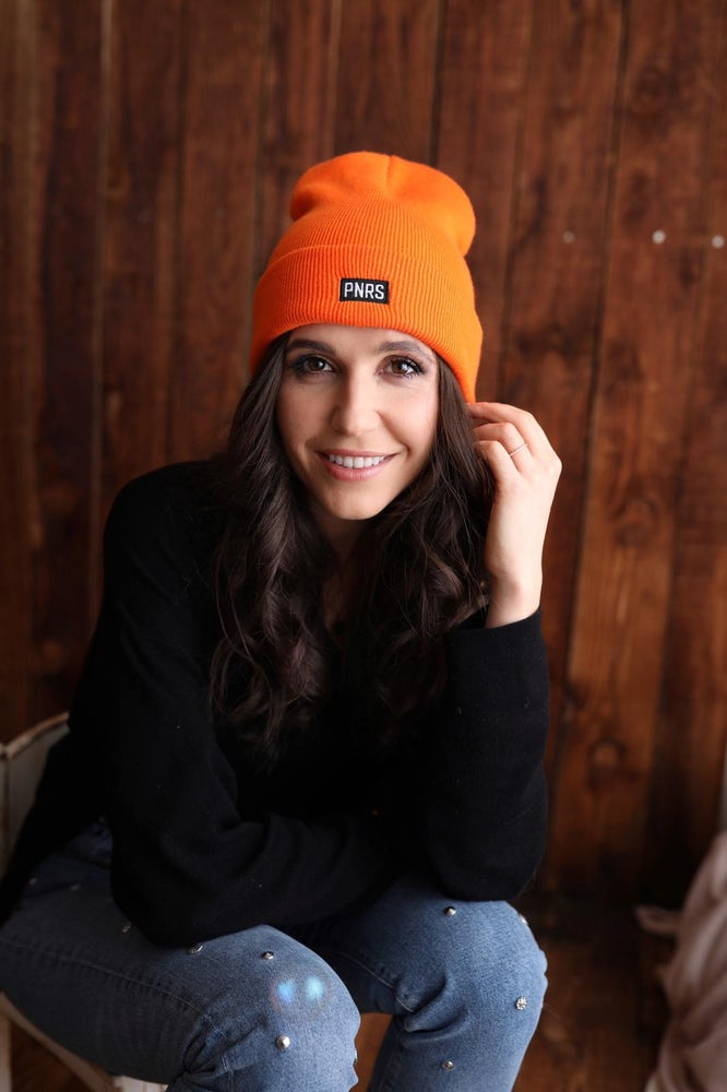Image of Orange Box Logo Beanie