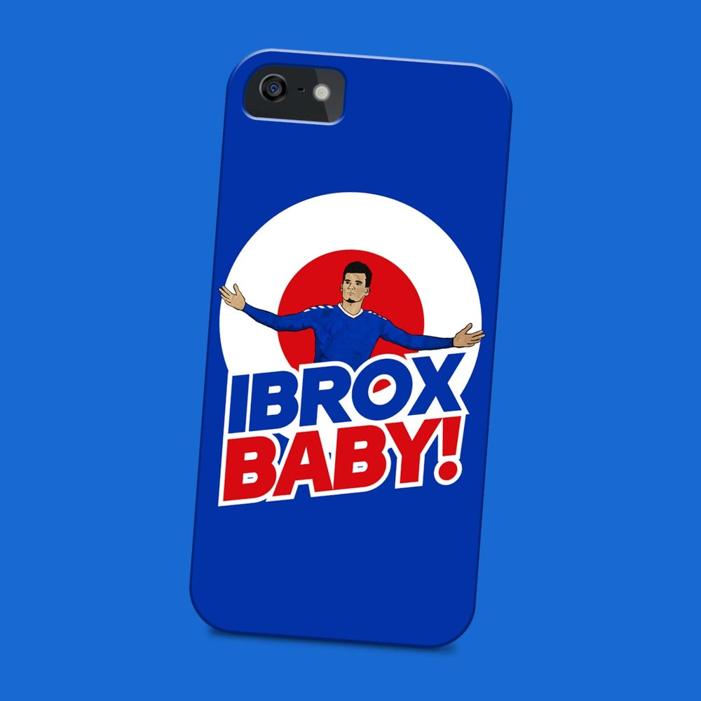 Image of Ibrox baby phone case