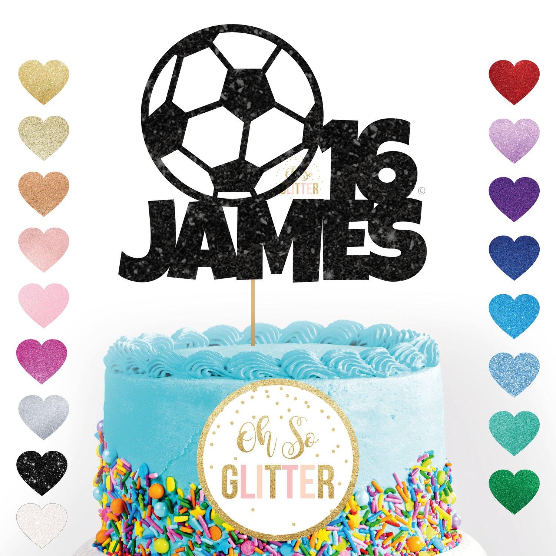 Image of Football Cake Topper