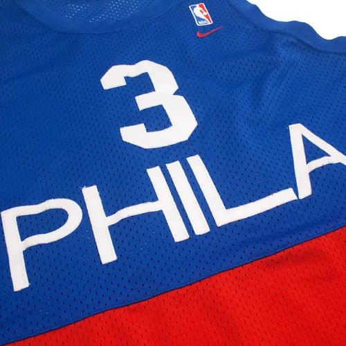 Image of Nike Philadelphia Sixers Retro Jersey Size XL