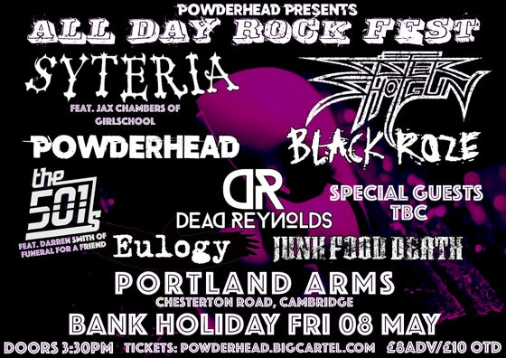 Image of Gig Ticket - Bank Holiday All-Day Rock Fest